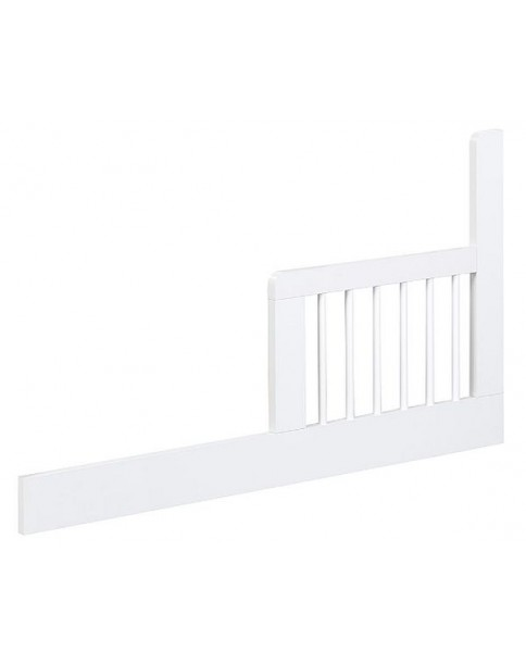 Klupś barierka zabezpieczająca do łóżeczka Paula białe 120x60cm