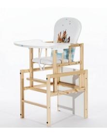 Drewex krzesełko do karmienia Antoś - Arka
