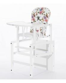 Drewex krzesełko do karmienia Antoś - Flores