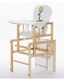 Drewex krzesełko do karmienia Antoś - Animals