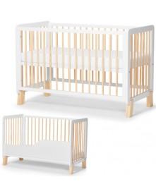 Kinderkraft łóżeczko Lunky ( White )