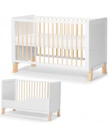 Kinderkraft łóżeczko Nico ( białe )