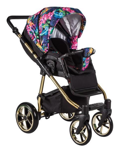Baby Merc Wózek Wielofunkcyjny La Noche Limited ( Spacerówka LNL09 )