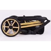 Baby Merc Wózek Wielofunkcyjny Faster Limited ( Złoty - Stelaż )
