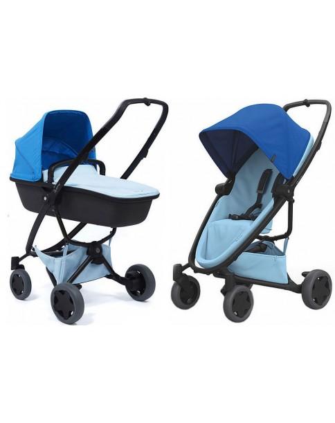 Quinny 2w1 wózek spacerowy Zapp Flex Plus Blue on Sky + Gondola LUX Sky on Graphite