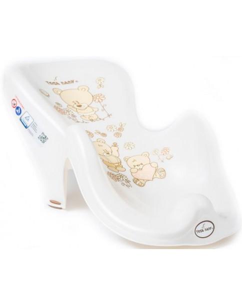 Tega Baby Fotelik Do Kąpieli Antypoślizgowy Miś ( Biały )