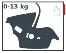 Foteliki 0-13 kg
