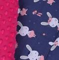 Małe Duże 1 fuksja + królik